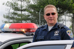 Jim Russell - reserve police officer